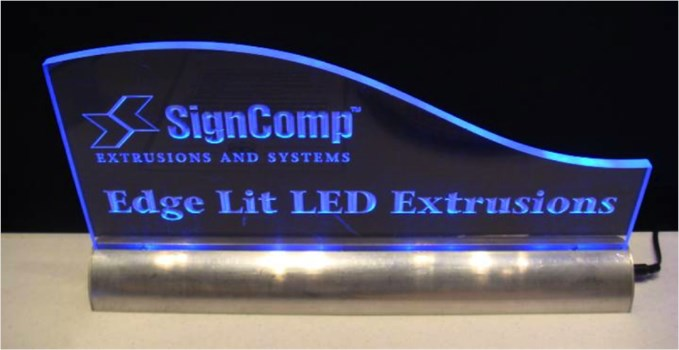 Edgelit and Backlit Signs