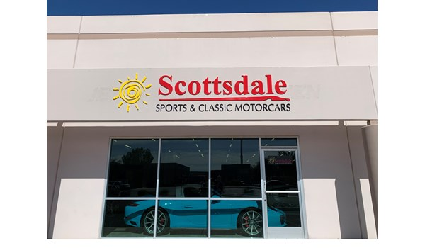 Custom Formed Plastic Exterior Sign for Scottsdale Sports & Classic Motor Cars