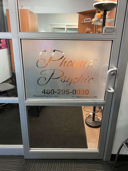 Custom Etched Glass Graphic