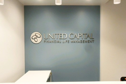 Custom Routed Ultraboard Reception Sign